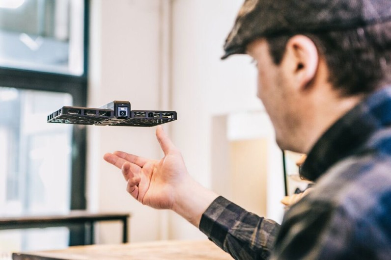 Who needs selfie sticks when this Hover Camera drone can follow you around?