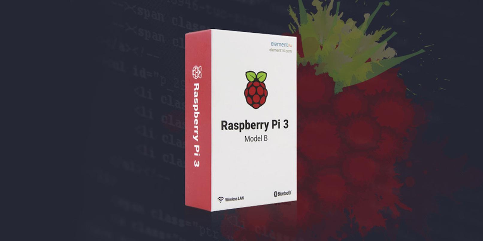 Master DIY robotics with The Complete Raspberry Pi 3 Starter Kit (55% Off)