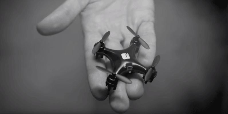 Matte Black Skeye Nano Drone