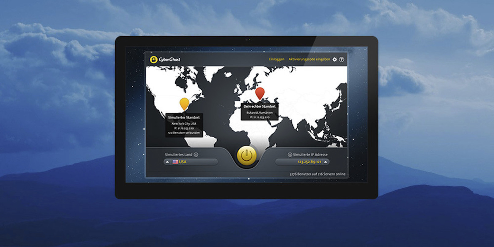 Enjoy encrypted internet, unlimited unlocked content with CyberGhost VPN (80% off)