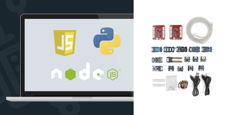 Learn to build Internet of Things apps with the Wio Link Kit & online learning bundle