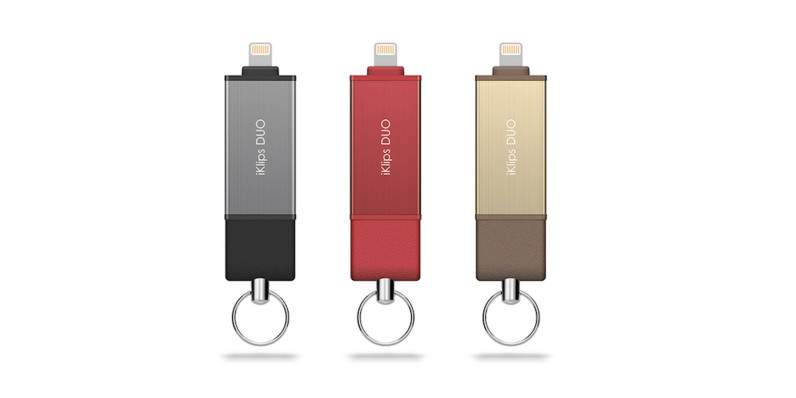 Improve your iPhone storage with iKlips DUO iOS