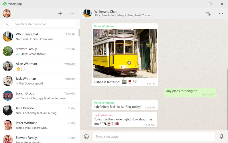 WhatsApp now has an official desktop app for Windows and Mac