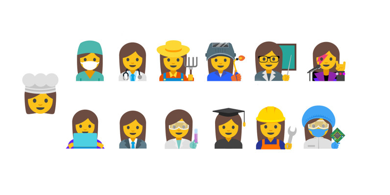 Google proposes new emoji to represent working women