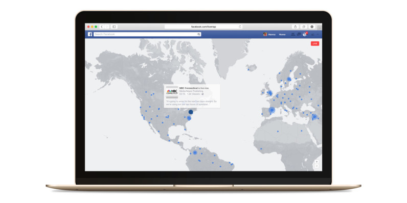 Facebook's interactive map is the best way to discover live videos streaming in real-time