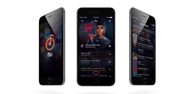 Flo Music lets you make collaborative playlists across Spotify, SoundCloud and more
