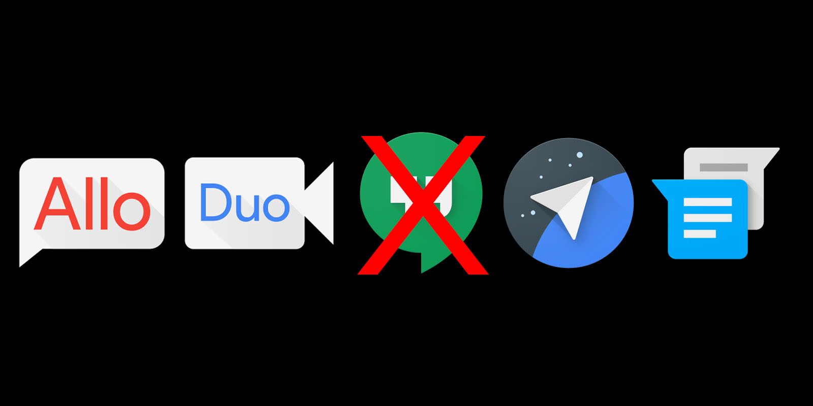 Google doesn't need 5 chat apps, and Hangouts should die first