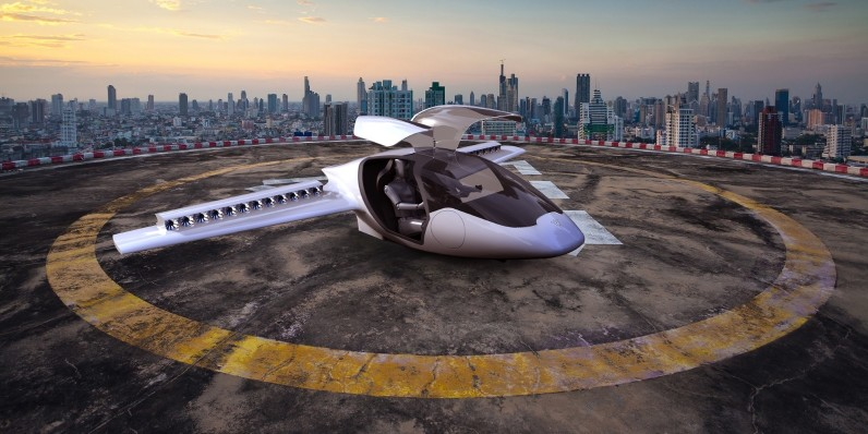 In 2018 you could have an electric plane waiting to take off vertically in your garden