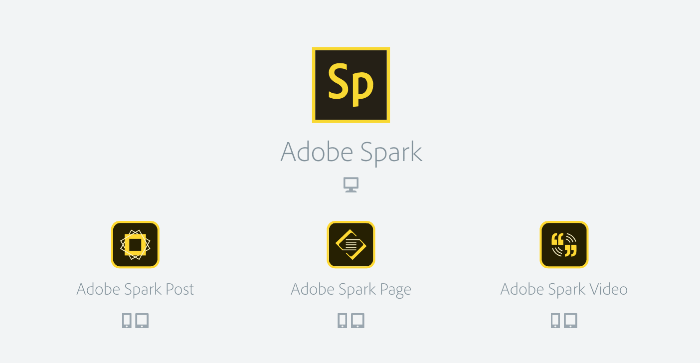 Adobe Spark helps anyone build great websites, videos or flyers