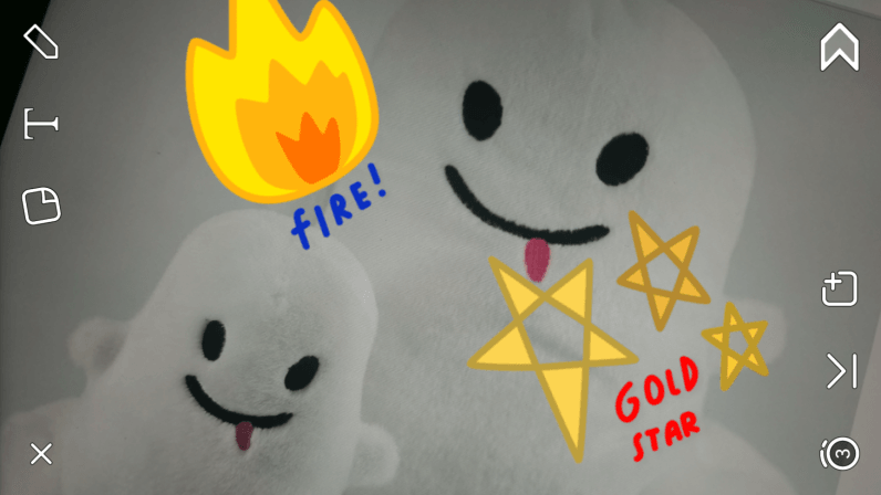 Snapchat is adding pizzazz to your selfies with non-emoji stickers