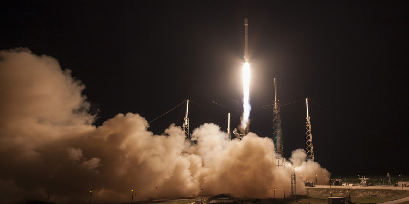 SpaceX successfully lands its Falcon 9 rocket at sea for the second time