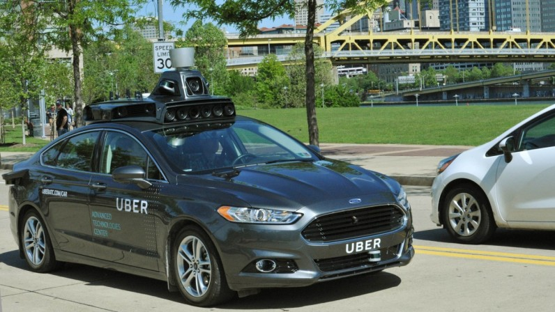 Here's a first look at Uber's self-driving car