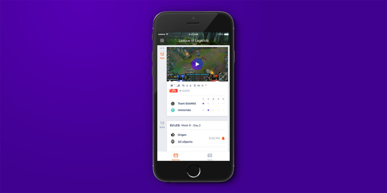 Yahoo's latest iOS app brings you esports news and scores