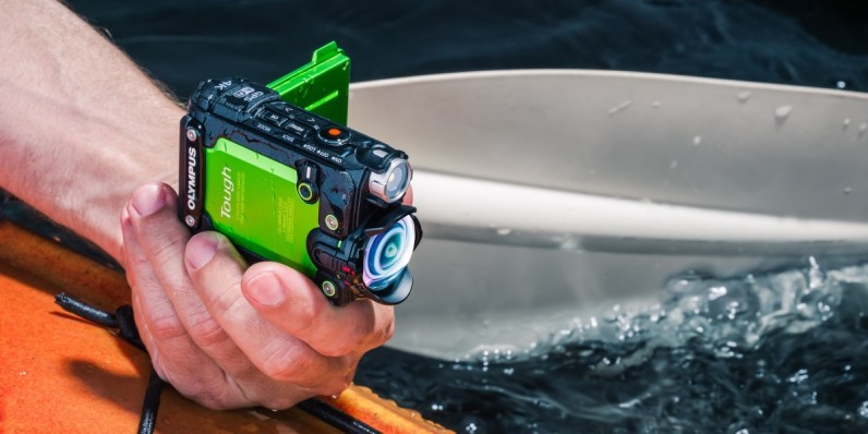 Olympus Crazy Rugged 4k Action Cam Will Ilize Your Footage And Track Stats