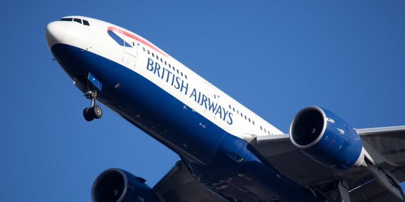 British Airways' long-haul flights are getting 70Mbps internet access next year