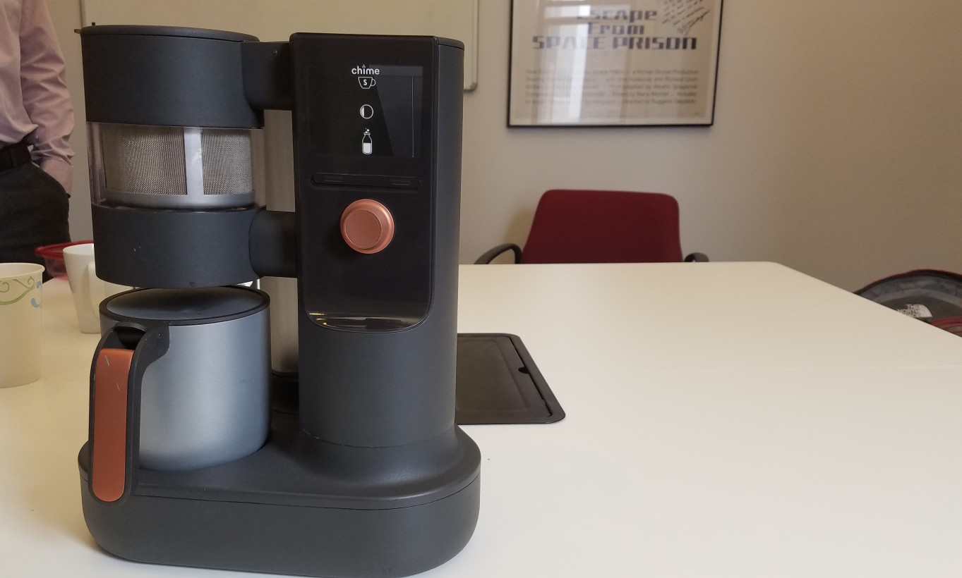 Chime is the Keurig for chai, because manually boiling milk sucks