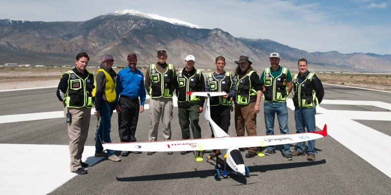 A drone designed to cure drought just took flight over Nevada
