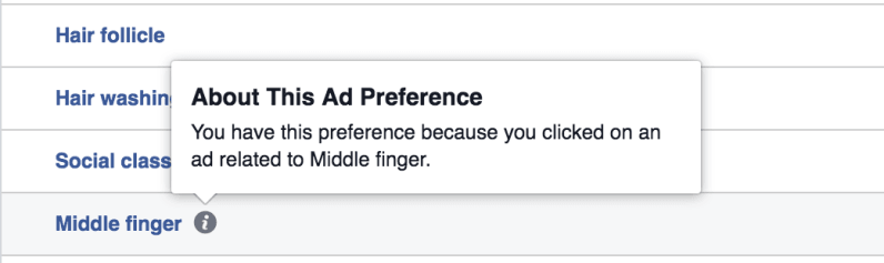 You can set your Facebook ad preferences to only cheese puffs (so why haven't you?)