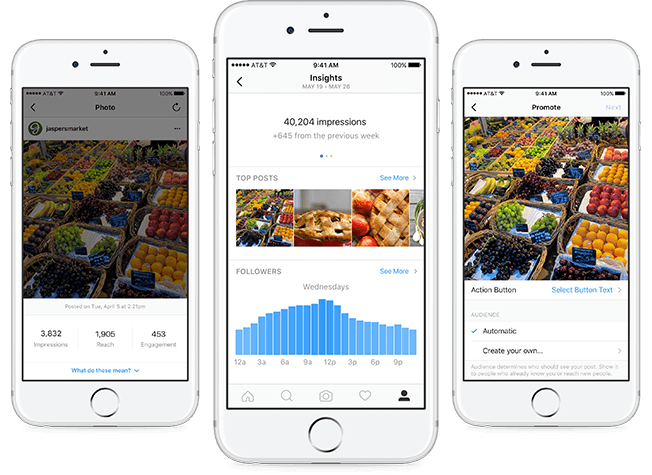 Instagram's Business profile and tools are here, and they look just like Facebook Pages'