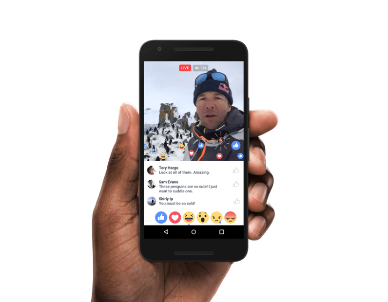 Facebook's new Live video graph could help you find the interesting bits