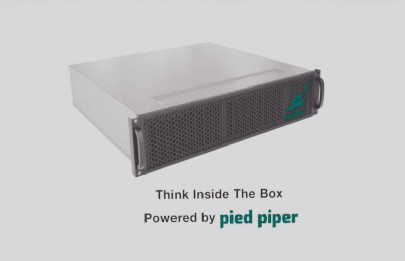 This is what Pied Piper's box on 'Silicon Valley' was actually based on