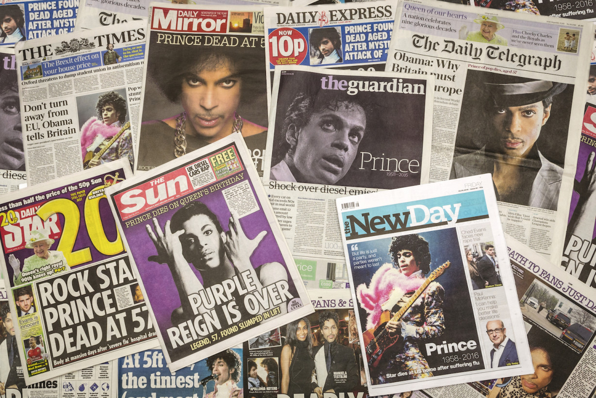 Prince is still making it difficult for online pirates from beyond the grave