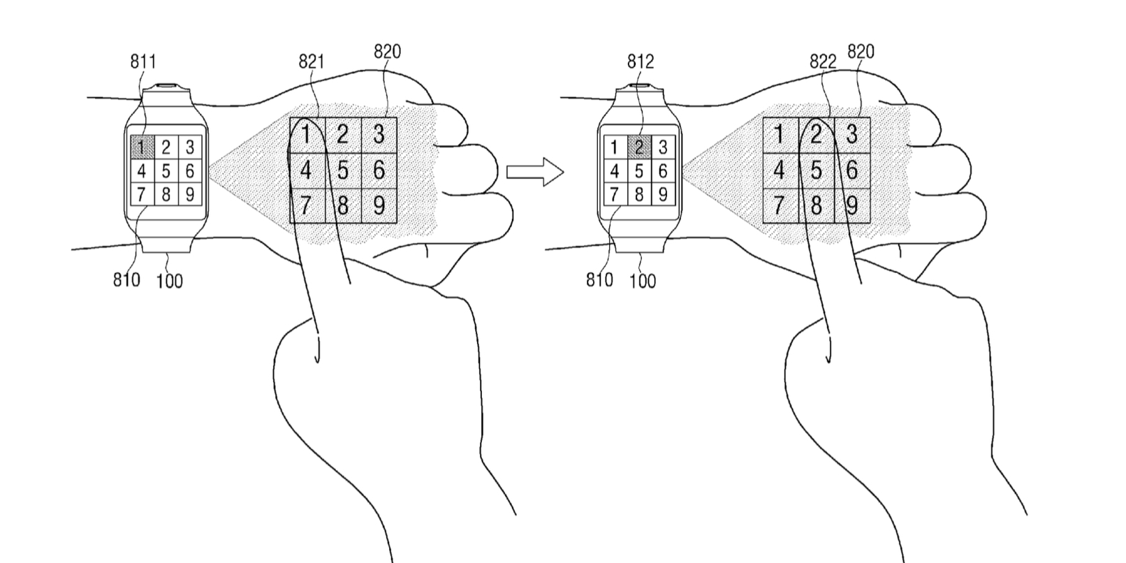 Samsung patent gives a glimpse into future smartwatch interfaces
