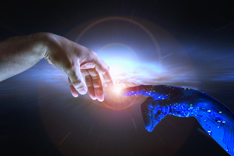 The case for an artificially intelligent God