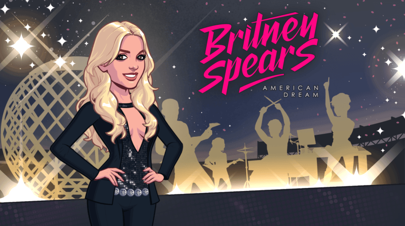 Now there's a Kim Kardashian-esque Britney Spears game