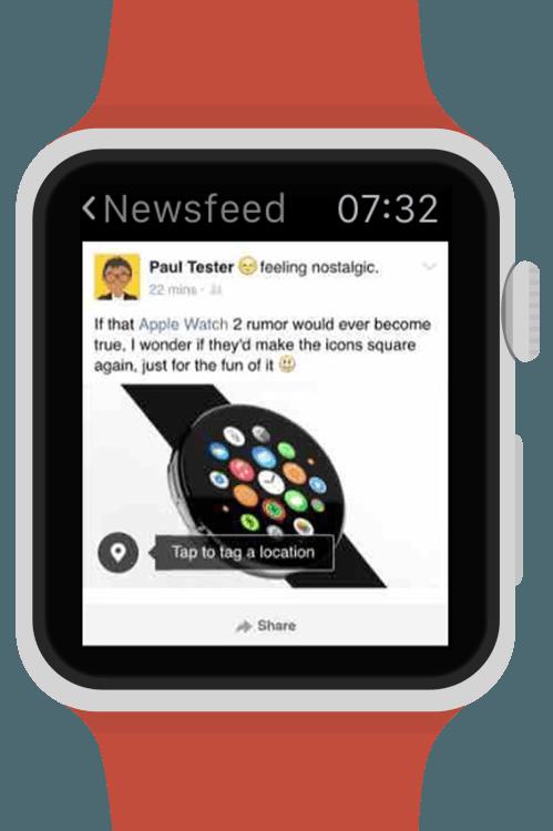 Littlebook puts Facebook on your Apple Watch