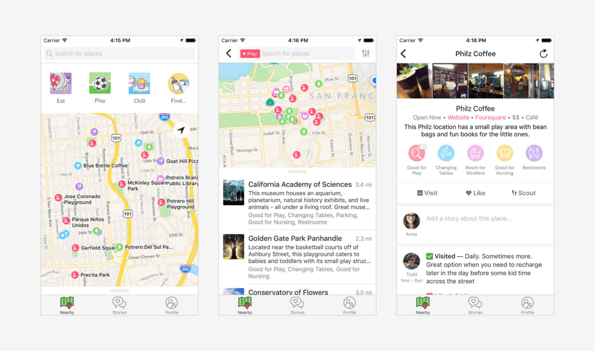 Winnie is a clever new social networking app built specifically for parents
