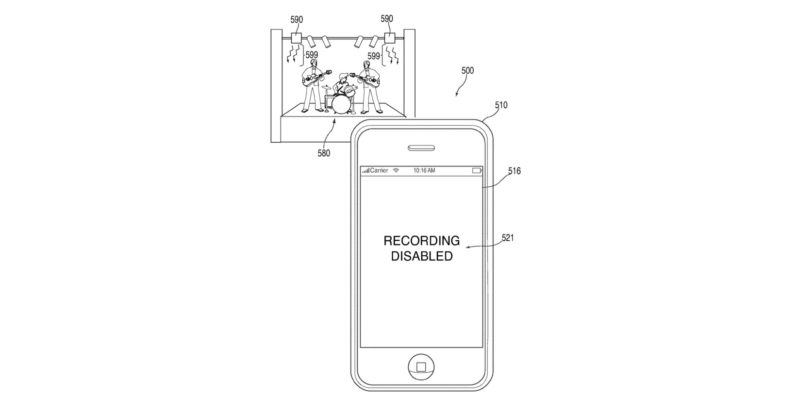 Apple patents a way to stop you from recording video at concerts