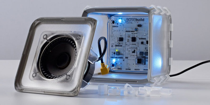 Bose wants kids to learn about sound by assembling a Bluetooth speaker themselves