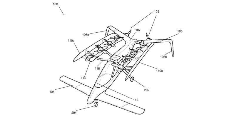 Google's Larry Page is pitting two startups against each other in a race to build flying cars