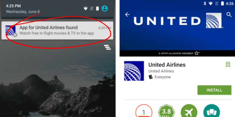 Android will now recommend apps based on your location