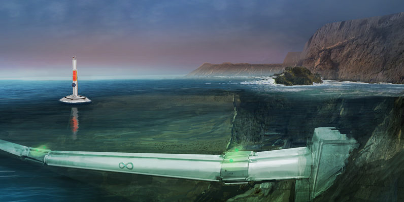 Hyperloop One wants to build super-fast, on-demand underwater transport systems