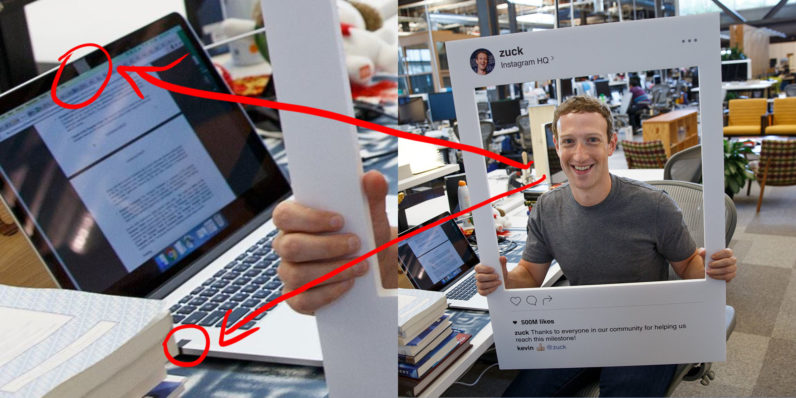 Mark Zuckerberg defeats hackers with a piece of tape