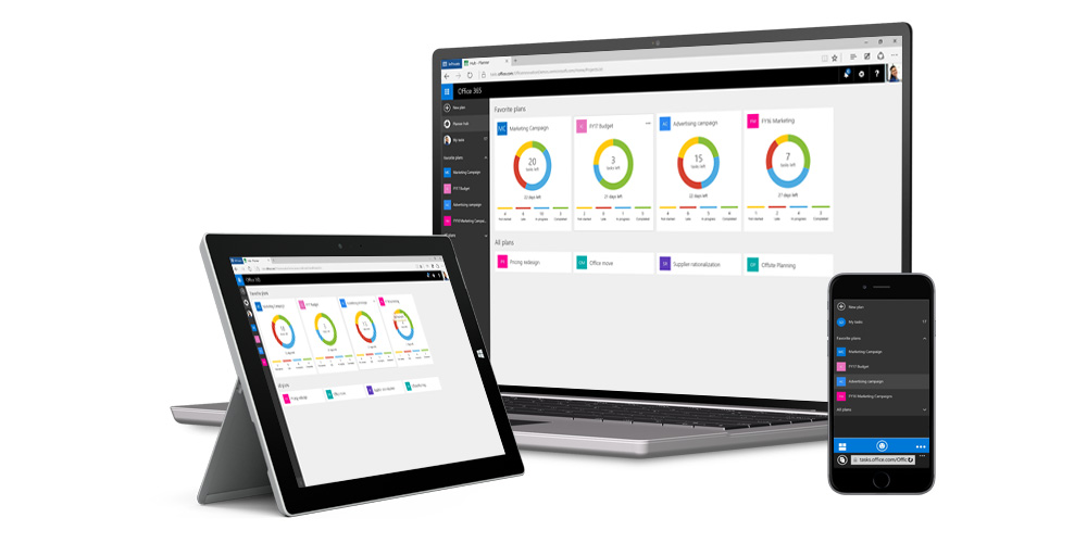 Microsoft launches its Planner project management app