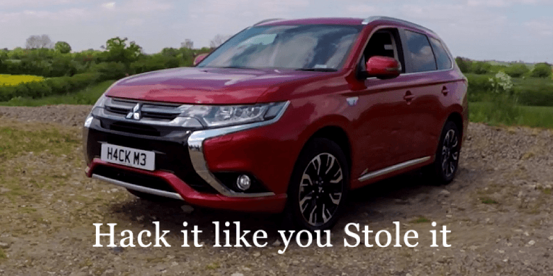 Mitsubishi's hybrid Outlander is reportedly vulnerable to hackers