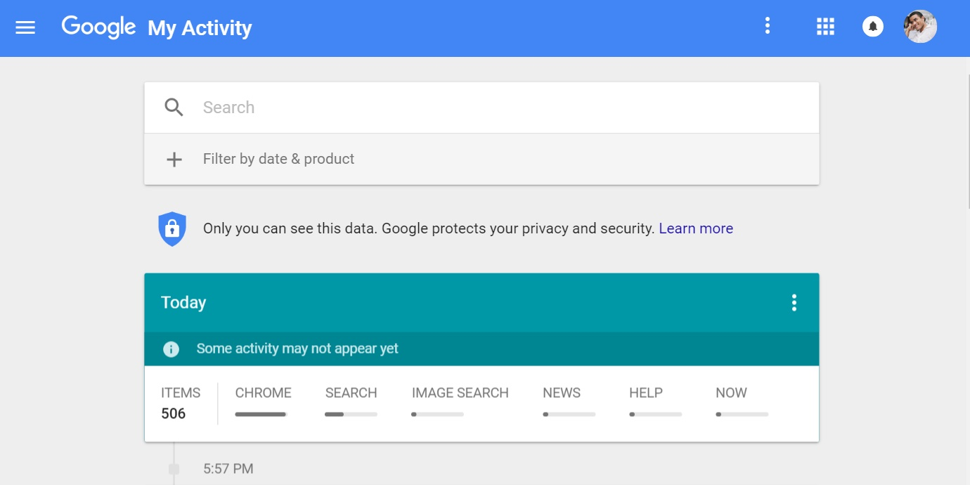 Google's 'My Activity' is like your browser history on steroids