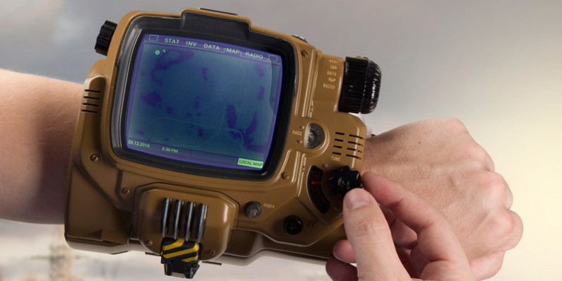 Fallout fans can now buy an official Pip-Boy replica that receives calls and texts