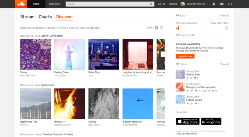 SoundCloud (finally) brings algorithmic song recommendations with 'Suggested Tracks'