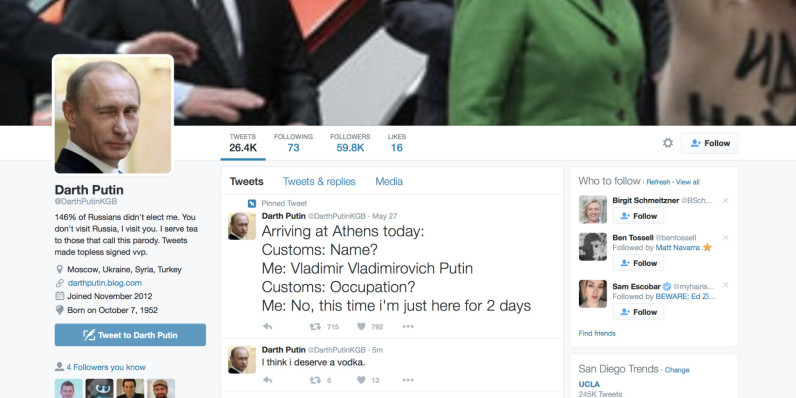 Twitter ignites censorship debate after removal of parody Putin account
