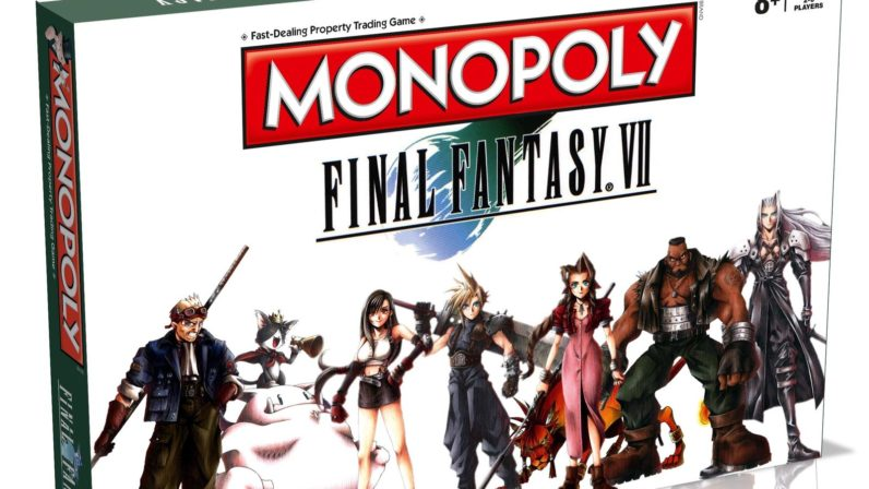 Final Fantasy VII-themed Monopoly is peak Final Fantasy VII