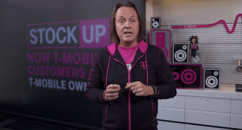 T-Mobile's next Uncarrier move rewards customers with free shares of the company