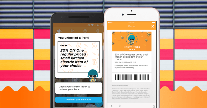 Swarm now offers perks with check-ins so it's basically Foursquare before the split