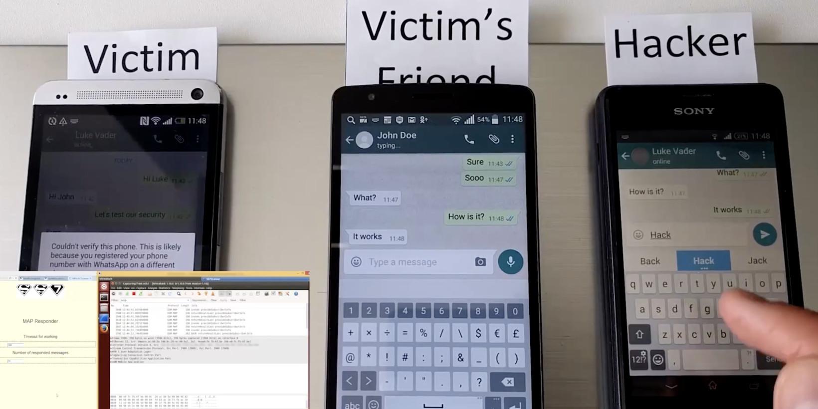 Watch hackers hijack WhatsApp and Telegram accounts using known telecom flaw