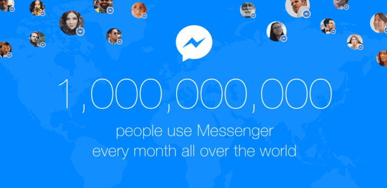 Facebook sneaks an Easter egg into Messenger to celebrate 1 billion monthly users