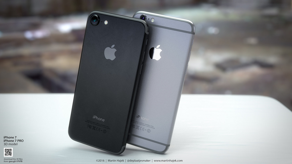 Awesome 'Space Black' iPhone 7 renders make me want one