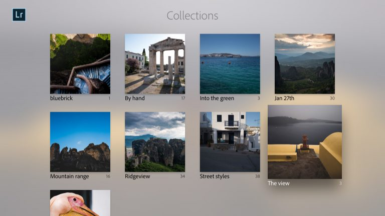 Adobe Lightroom is now available on Apple TV for some reason